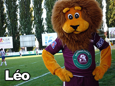 Mascotte rugby UBB