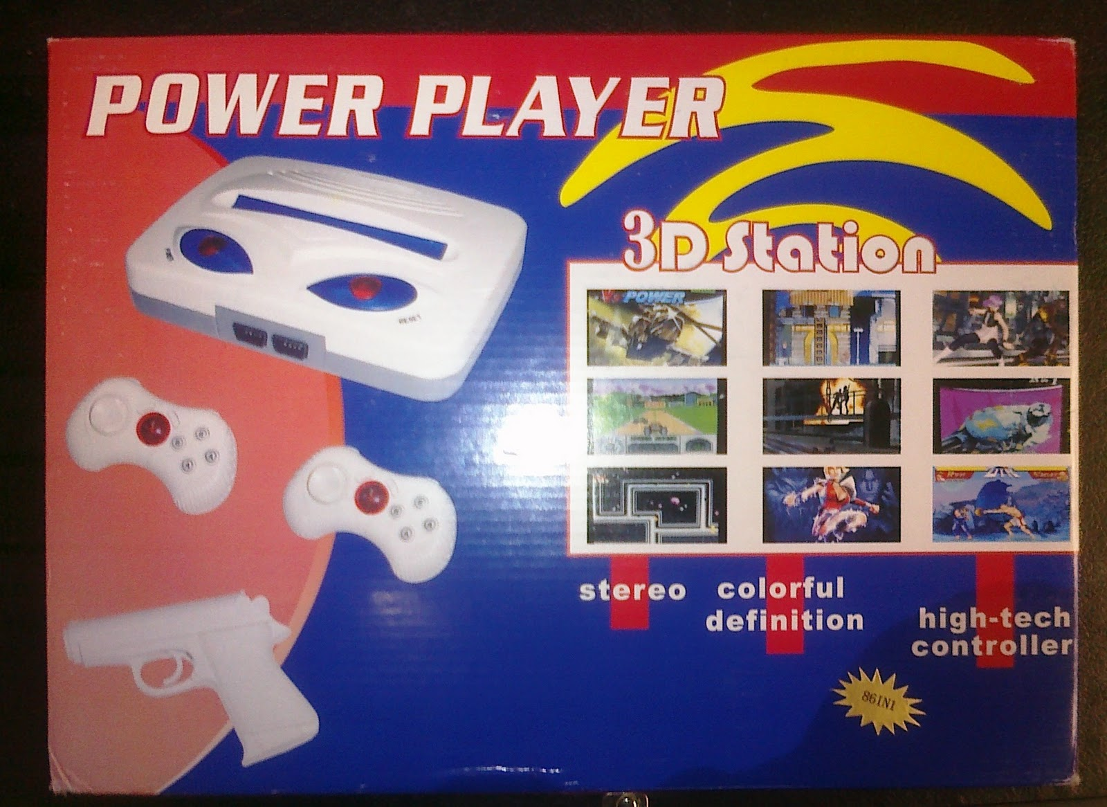 Poverty Game Night: Power Player 3D Station