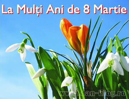 urari si felicitari de ziua femeii 8 martie Mesaje de 8 Martie
