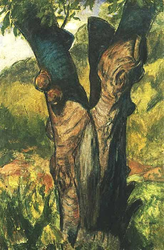 Alfred Henry Maurer - The Old Tree