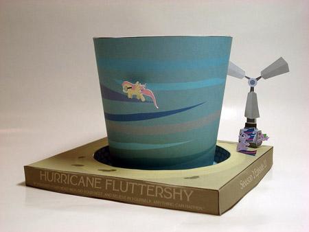 Hurricane Fluttershy Papercraft