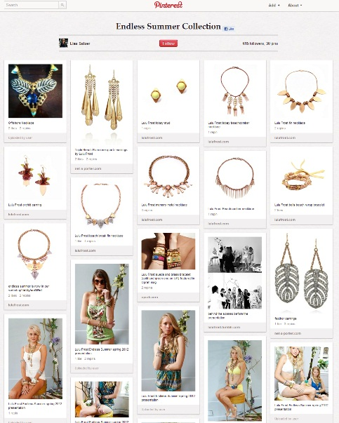 Interested to know about Pinterest Fashion and cool, trendy jewelry designs for women. Checkout Lisa's boards