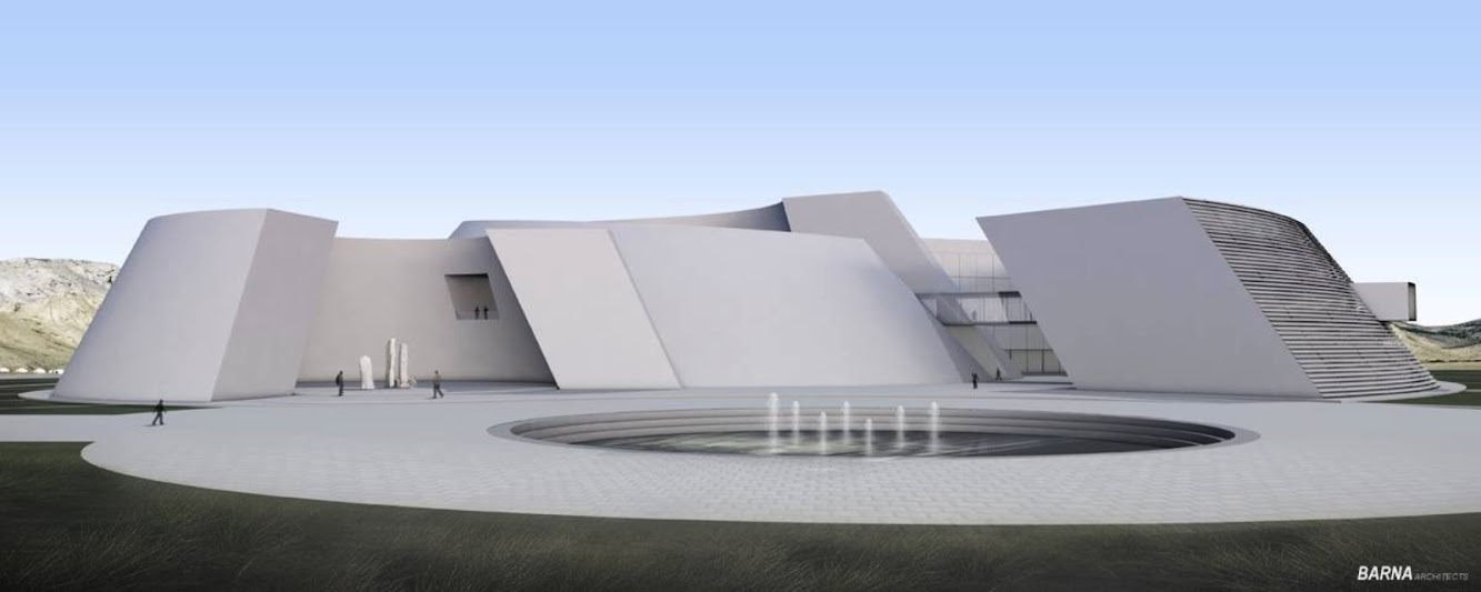 Museum: NATIONAL ARCHAEOLOGICAL MUSEUM of MONGOLIA by BARNA ARCHITECTS