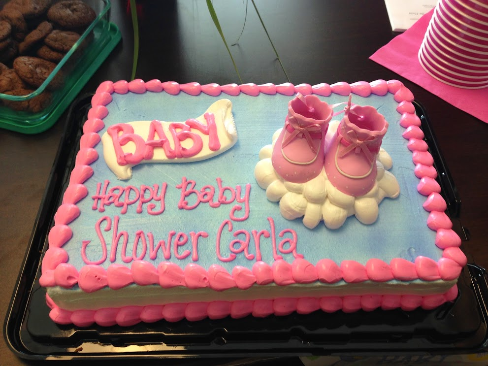 Carla's Surprise Baby Shower