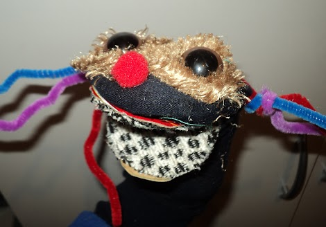 Sock puppet competition winner!