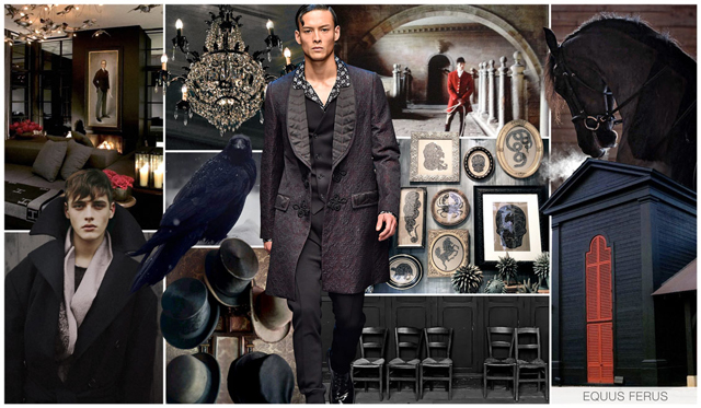 Victorian Era Inspires Fashion - F/W Trends [men's fashion]