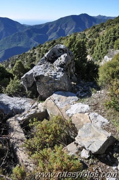 Subida al torrecilla por el Paso del Cristiano