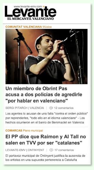Notícies Levante-EMV