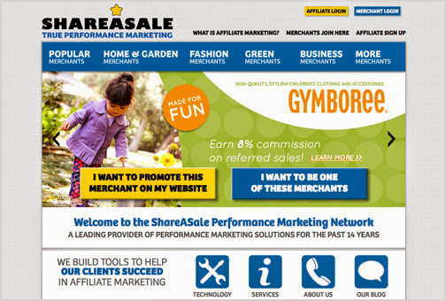 Share a Sale Affiliate Marketing Programs