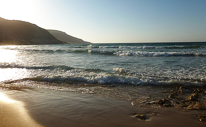 Ramla bay beach, Victoria's garden, gozo, vintage photography, week in pictures