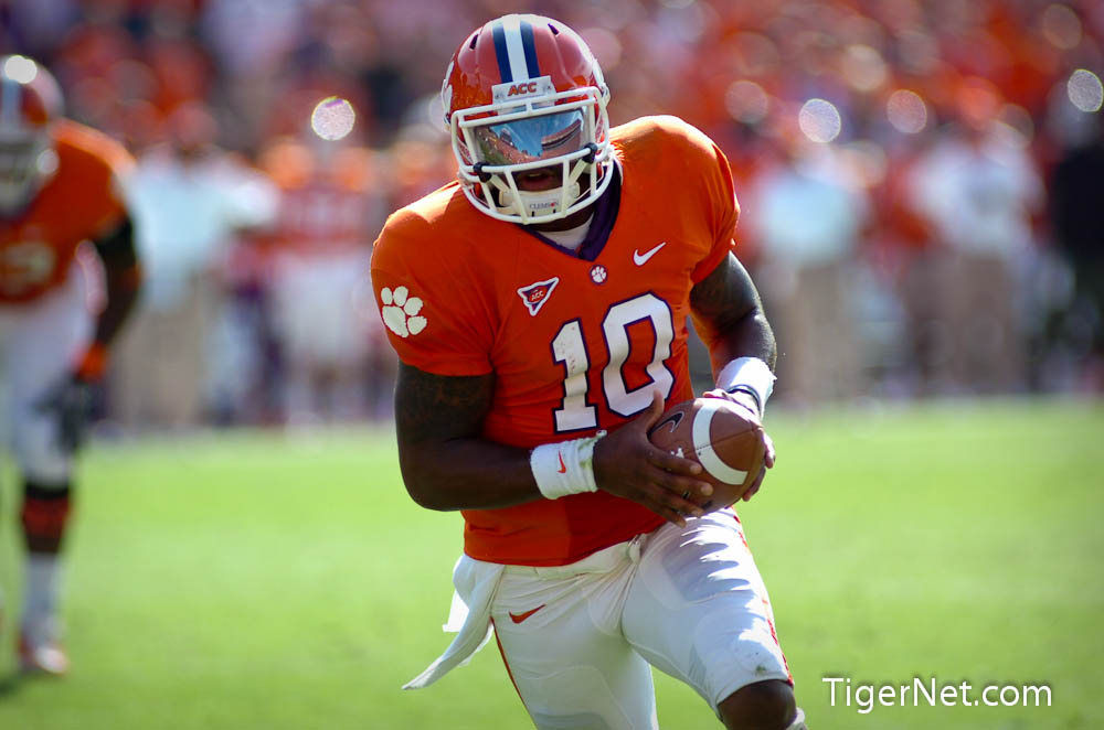 Clemson vs. Boston College - 1st Half Photos - 2011, Boston College, Football, Tajh Boyd