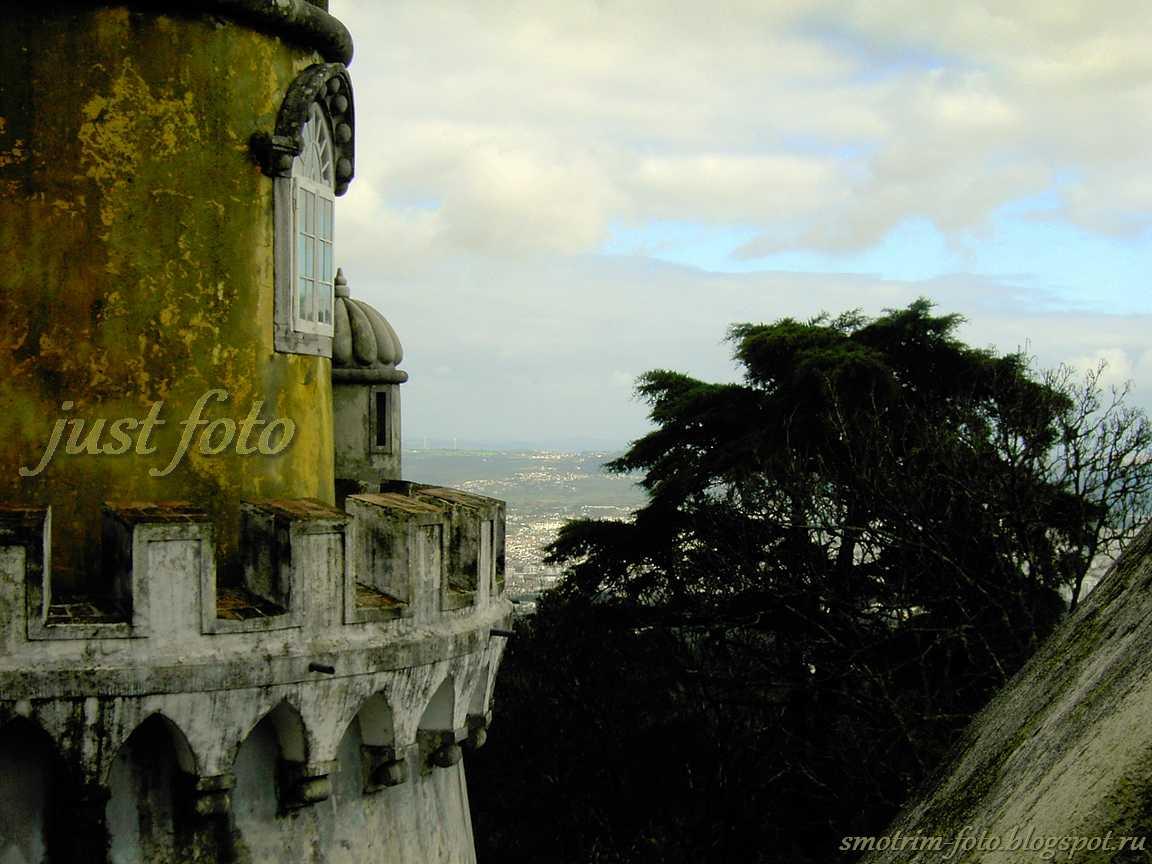 С высоты Pena Palace фото
