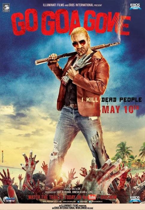 Cover of Go Goa Gone (2013) Hindi Movie Mp3 Songs Free Download Listen Online at Alldownloads4u.Com