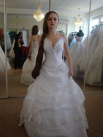 Bridal Hair Styles wedding long hair model