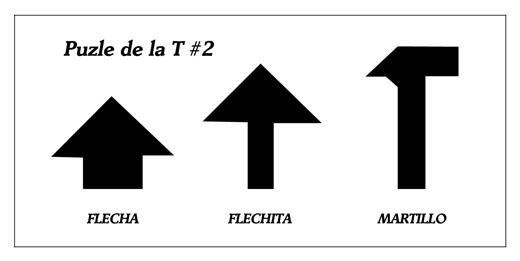 Puzzle de la T - M·s figuras #2