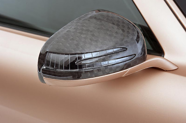 mercedes sls carbon mirrors