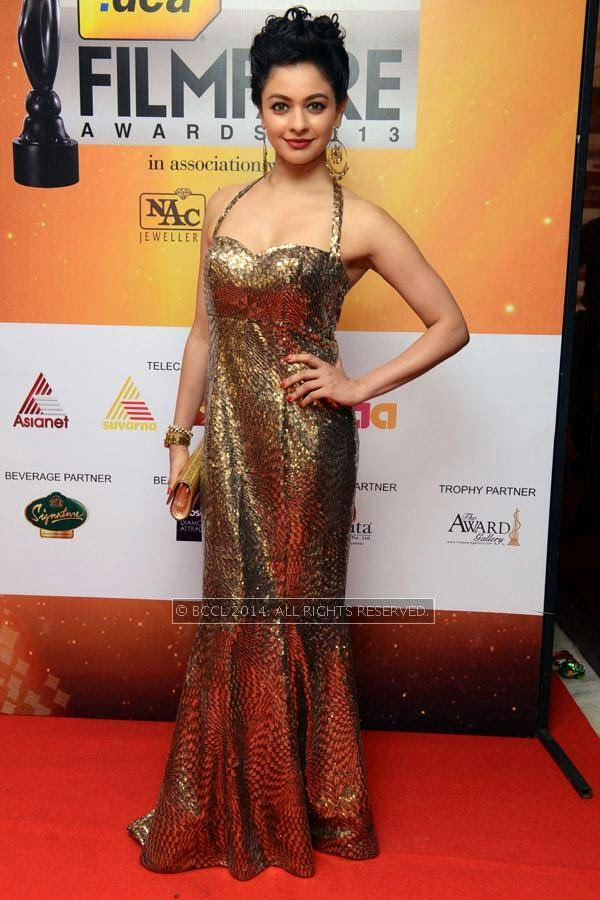 Pooja Kumar during the 61st Idea Filmfare Awards South, held at Jawaharlal Nehru Stadium in Chennai, on July 12, 2014.