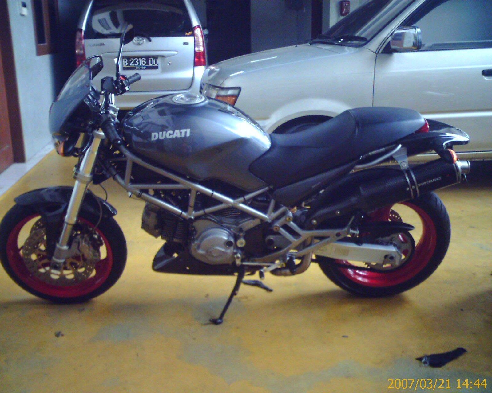 Honda Tiger Modifikasi Ducati
