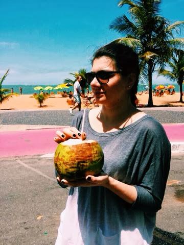 coconut water, praia da costa, vila velha, espirito santo, brazil