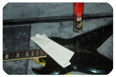 limpieza guitarra
