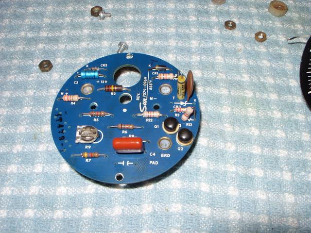 Sun Tachometer Schematic Internal Board Repair