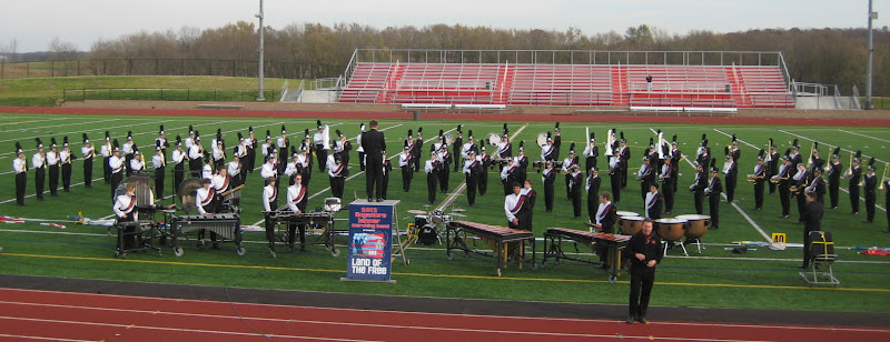 2012 LHS marching band