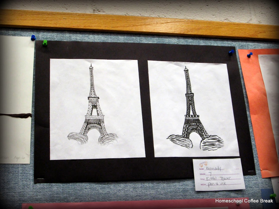 Middle School Monday - France at Homeschool Coffee Break @ kympossibleblog.blogspot.com