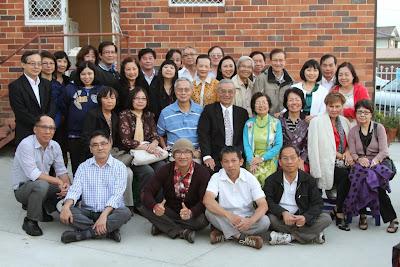 KM Sydney đón tiếp thầy Nhã 2013