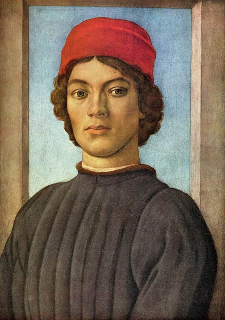 Filippino Lippi - Portrait of a Youth