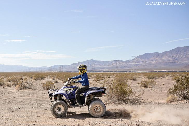 ATV Tour // Things to Do Las Vegas.