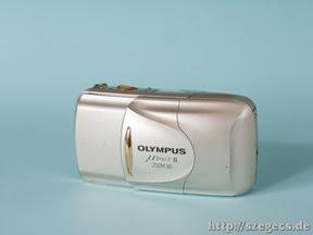 Olympus mjuII kikapcsolt állapotban...