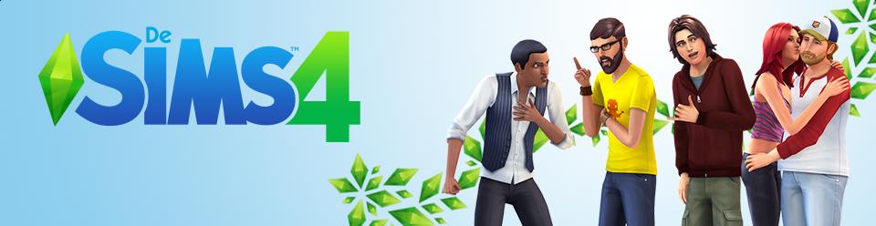 De Sims 4 banner