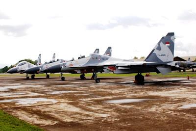 Jet Tempur Sukhoi TNI-AU. Prokimal Online Kotabumi Lampung Utara