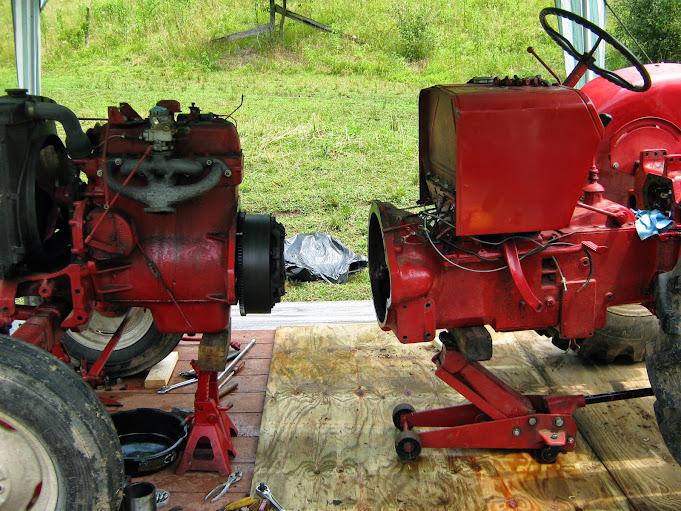 International Tractor Clutches : B clutch flywheel general ih red power magazine