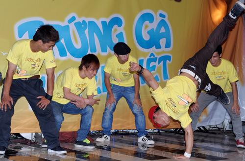 Gunny phát động thi nhảy hiphop và sáng tác nhạc chuông 2