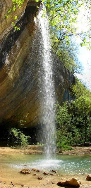 Как фотографировать водопады - Крым. Водопад Козырёк.