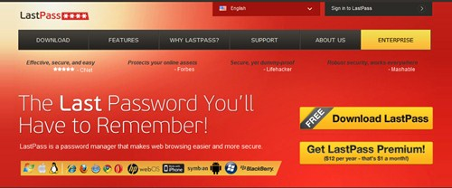 Aplikasi password manager