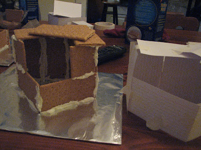 Model stone age house