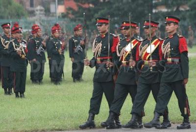 Nepali Army in Fulpati