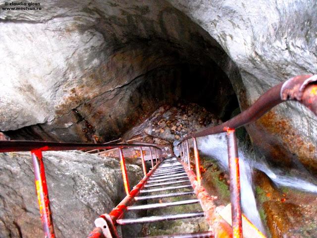 obiective turistice Piatra Mare: Canionul Sapte Scari