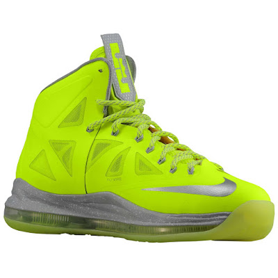 nike lebron 10 ss atomic volt dunkman 1 05 Nike, This is How We Want Our Volts! With Diamond Cut Swoosh.