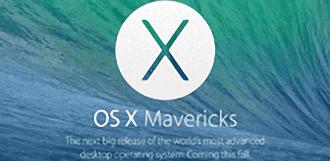 Apple actualiza su sistema OS X Mavericks a la versión 10.9.1