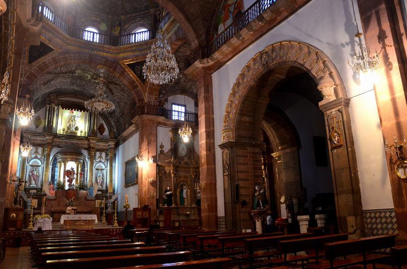 Interior Parroquia San Miguel de Arcangel