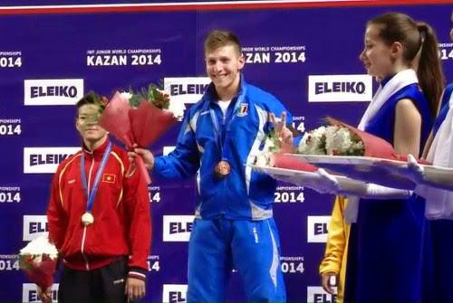 Un Argento e due Bronzi per un grande Scarantino ai Mondiali Juniores