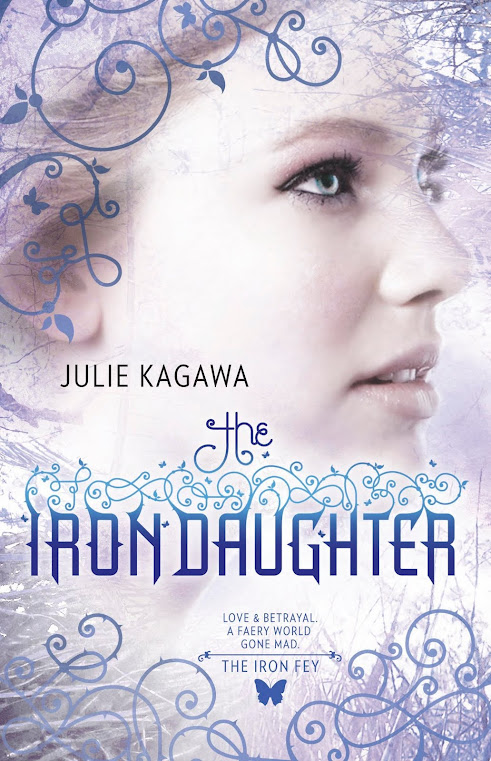 Book Review: The Iron Daughter (The Iron Fey, Book 2), By Julie Kagawa Cover Artwork