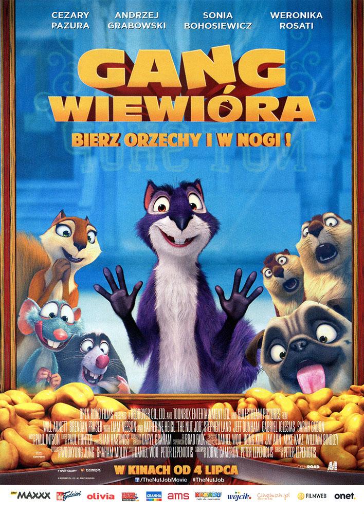 Ulotka filmu 'Gang Wiewióra (przód)'