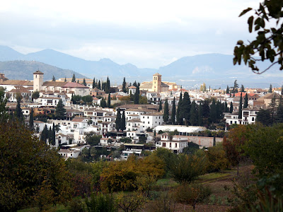 Granada from the Alhambra