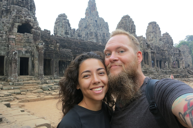 Us at Bayon