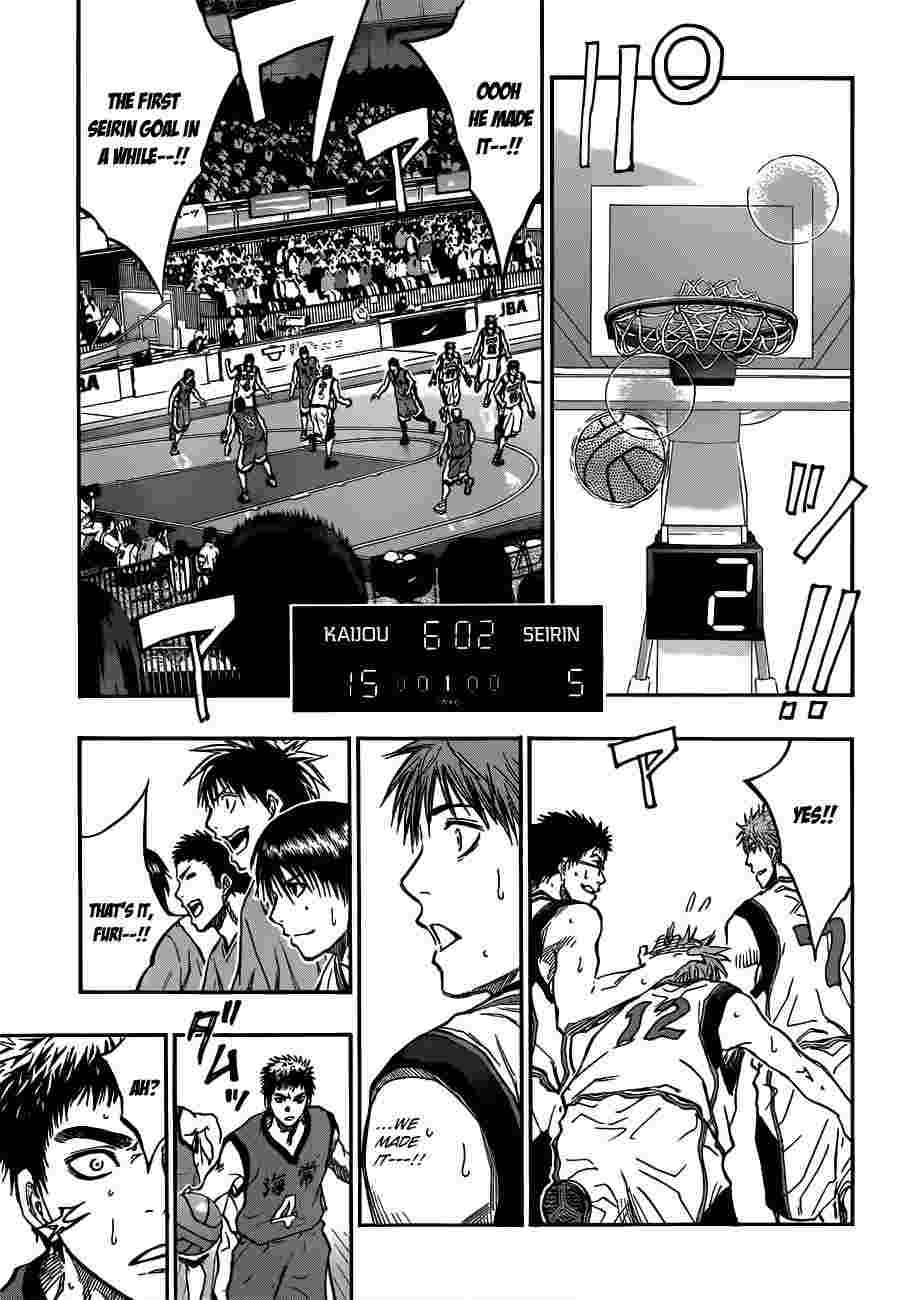 Kuroko no Basket Manga Chapter 187 - Image 09