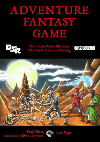 Review Adventure Fantasy Game Getting My D6 Fix Part The First